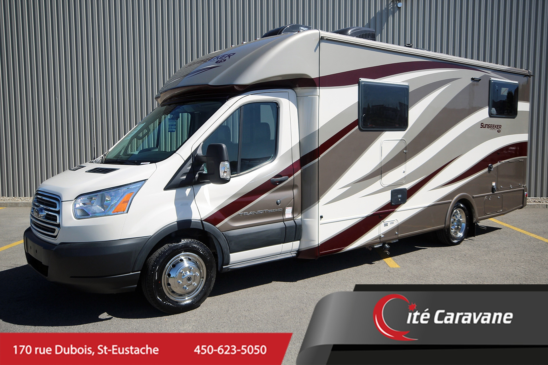 2019 FOREST RIVER SUNSEEKER 2380 TS TRANSIT FORD NEUF 2380 NOUVEAU MODÈLE + FULL PAINT !! CLASSE B/B+