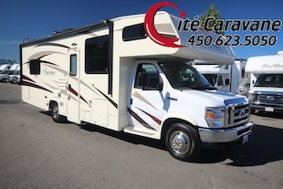 2017 COACHMEN Freelander 27QB Classe C VR/RV Color glass + beautiful home decor !!