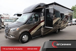2020 Entegra Coach Qwest 24L Classe B+/C NEUF VR/RV Mercedes Diesel+Full Paint+Extension Full Wall