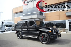 2015 Mercedes-Benz G-Class G63 Black on Red leather !! WOW
