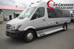 2017 PLEASURE-WAY Plateau TS ! RV / VR Classe B 22 pieds ! Mercedes turbo diesel SPRINTER ! 2017 !