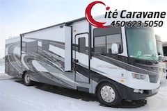 2017 FOREST RIVER Georgetown XL GT7 377 Black Diamond 3 extensions Classe A 37 pieds ! WOW Full Paint