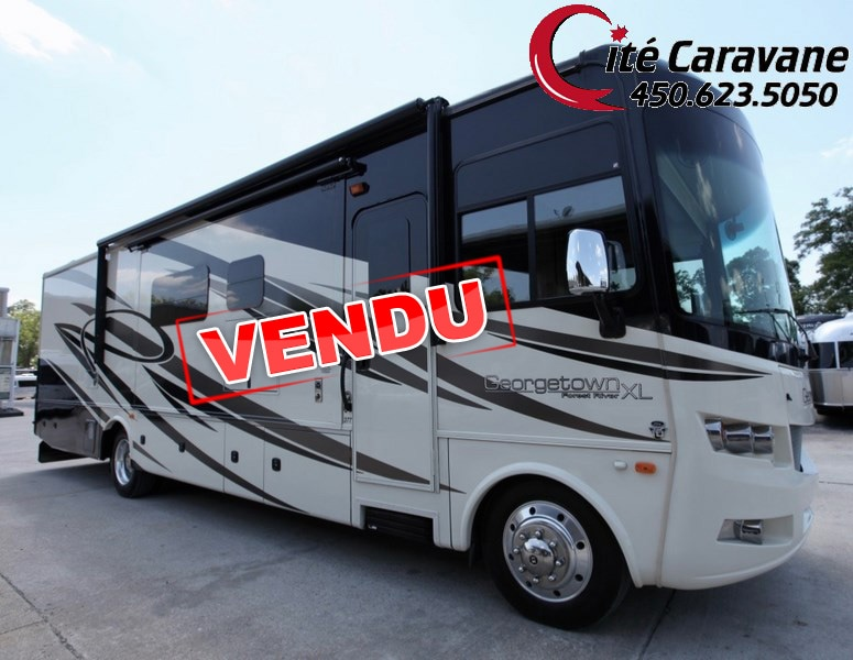 2015 FOREST RIVER Georgetown 377 Black diamond 2015 Classe A VR / RV 3 slide out !!