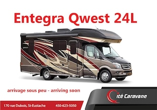 2020 ENTEGRA Qwest 24L 2020 NEUF Sprinter 1 extension full wall