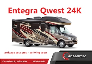 2020 ENTEGRA Qwest 24K 2020 NEUF Mercedes 2 extensions Sprinter
