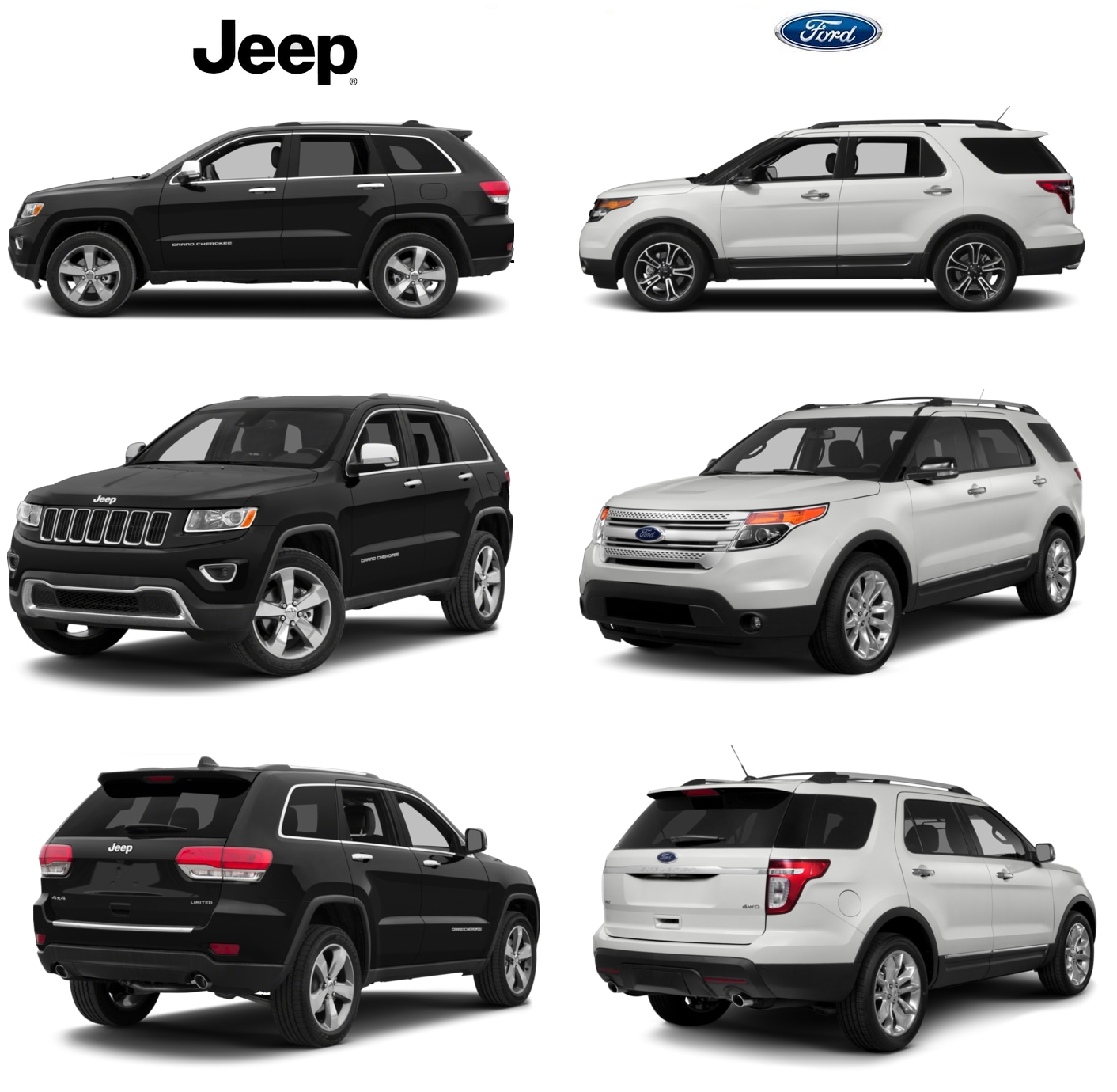Grand Cherokee vs Ford Explorer in Dade City & Lakeland FL