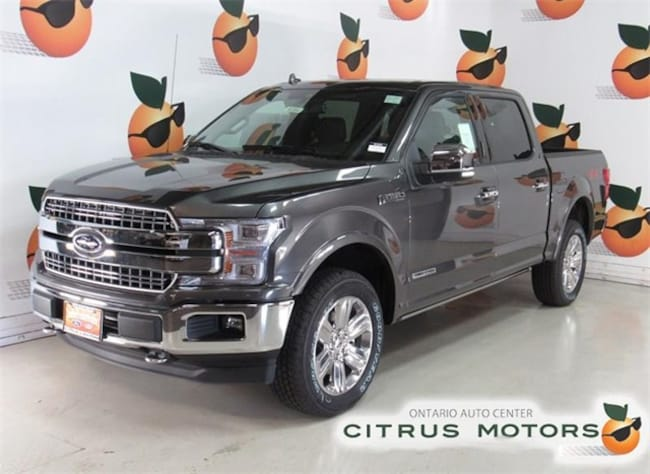 New 2018 Ford F-150 Lariat Truck in Ontario CA