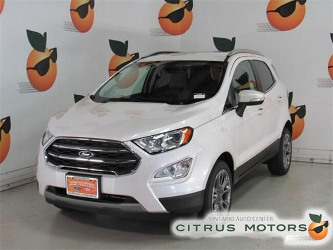 New 2018 Ford EcoSport Titanium SUV in Ontario CA