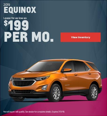 New 2019 Chevrolet Equinox 7/18/2019