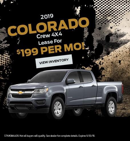 New 2019 Chevrolet Colorado Crew 9/6/2019