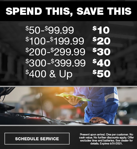 Spend & Save | May Offer
