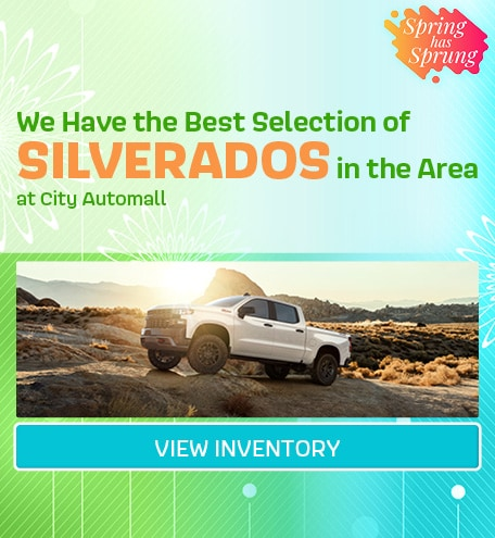 We Have the Best Selection of Silverados in the Area