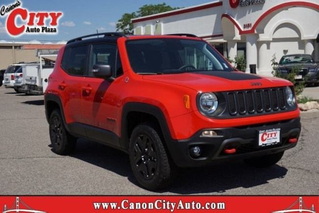 New 2018 Jeep Renegade TRAILHAWK 4X4 Sport Utility for sale in Canon City CO