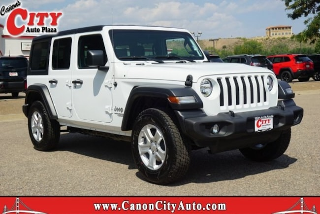New 2018 Jeep Wrangler UNLIMITED SPORT S 4X4 Sport Utility For Sale Near Pueblo, Colorado