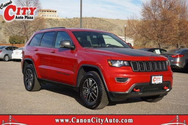 New 2019 Jeep Grand Cherokee TRAILHAWK 4X4 Sport Utility For Sale Near Pueblo, Colorado