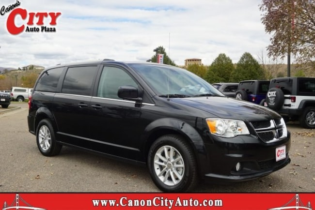 New 2019 Dodge Grand Caravan SXT Passenger Van For Sale Near Pueblo, Colorado