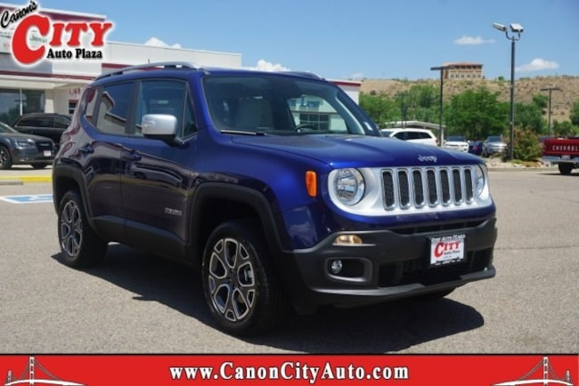New 2018 Jeep Renegade LIMITED 4X4 Sport Utility for sale in Canon City CO