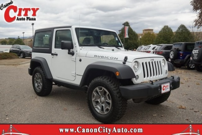 New 2018 Jeep Wrangler JK RUBICON 4X4 Sport Utility For Sale Near Pueblo, Colorado