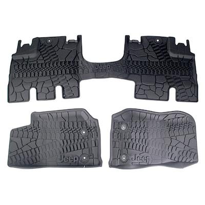 Tire Tread Jeep Wrangler Floor Mats