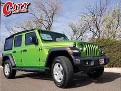 New 2018 Jeep Wrangler UNLIMITED SPORT S 4X4 Sport Utility For Sale Near Pueblo, Colorado