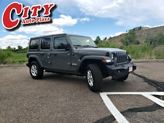 New 2019 Jeep Wrangler UNLIMITED SPORT S 4X4 Sport Utility For Sale Near Pueblo, Colorado
