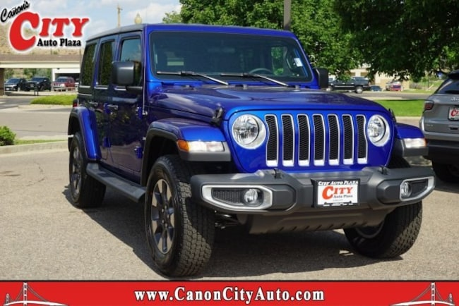 New 2018 Jeep Wrangler UNLIMITED SAHARA 4X4 Sport Utility For Sale Near Pueblo, Colorado