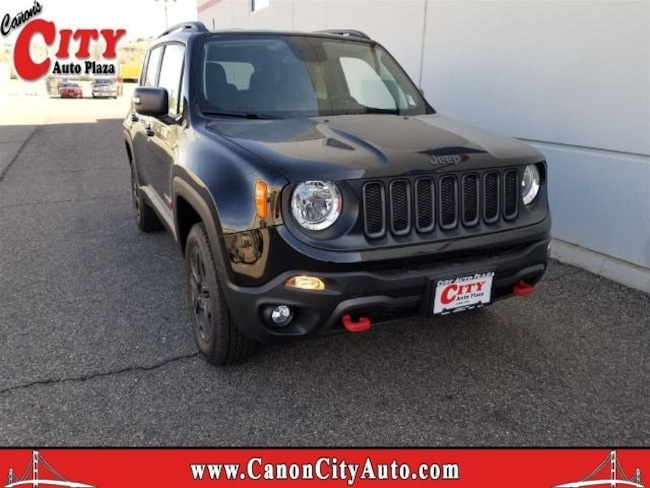 New 2018 Jeep Renegade TRAILHAWK 4X4 Sport Utility For Sale Near Pueblo, Colorado