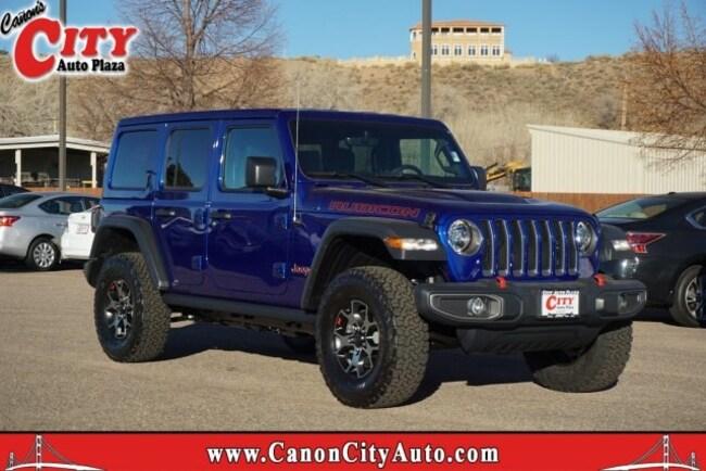 New 2018 Jeep Wrangler UNLIMITED RUBICON 4X4 Sport Utility For Sale Near Pueblo, Colorado