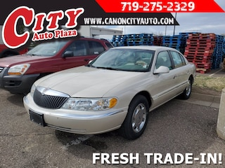 2002 Lincoln Continental 4dr Sdn Base 4dr Car