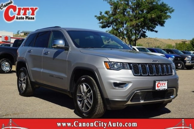 New 2018 Jeep Grand Cherokee LIMITED 4X4 Sport Utility For Sale Near Pueblo, Colorado