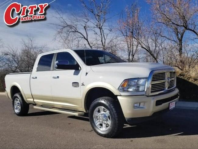 Used 2011 Ram 2500 Laramie Longhorn Truck Crew Cab for Sale Near Pueblo, Colorado