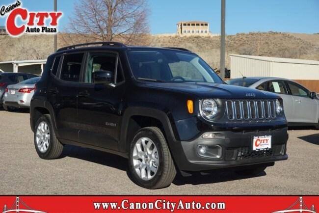 New 2018 Jeep Renegade LATITUDE 4X4 Sport Utility For Sale Near Pueblo, Colorado