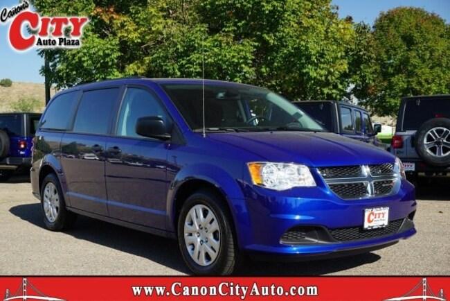 New 2019 Dodge Grand Caravan SE Passenger Van For Sale Near Pueblo, Colorado