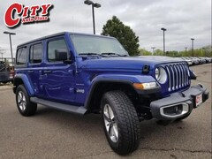 New 2019 Jeep Wrangler UNLIMITED SAHARA 4X4 Sport Utility For Sale Near Pueblo, Colorado