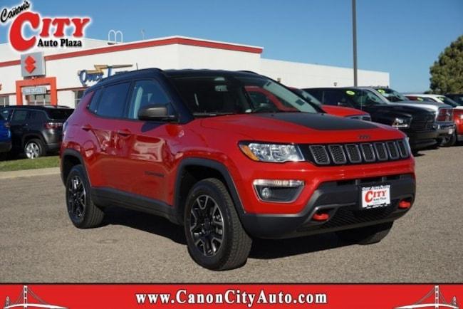 New 2019 Jeep Compass TRAILHAWK 4X4 Sport Utility For Sale Near Pueblo, Colorado