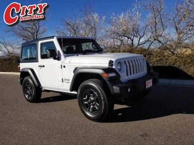 New 2018 Jeep Wrangler SPORT 4X4 Sport Utility For Sale Near Pueblo, Colorado