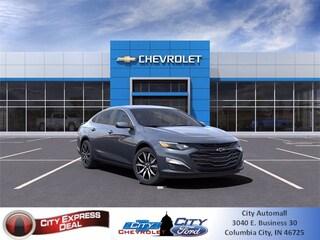 blank 2021 Chevrolet Malibu RS Sedan in Columbia City, IN