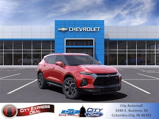 blank 2021 Chevrolet Blazer RS SUV in Columbia City, IN