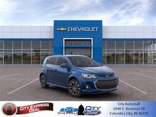 blank 2020 Chevrolet Sonic LT 5-Door Hatchback in Columbia City, IN