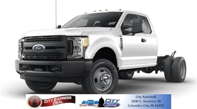 2019 Ford F-350 Chassis XL DRW Truck Super Cab