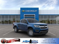 2020 Chevrolet Colorado Work Truck Truck Extended Cab