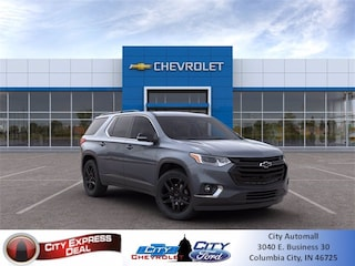 blank 2020 Chevrolet Traverse LT Cloth SUV in Columbia City, IN
