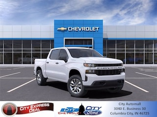 New 2021 Chevrolet Silverado 1500 Custom Truck 1GCPYBEK0MZ149815 for sale in Columbia City, IN