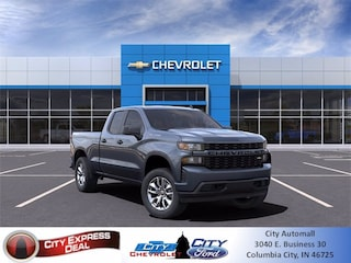 New 2021 Chevrolet Silverado 1500 Custom Truck 1GCRYBEK4MZ145310 for sale in Columbia City, IN
