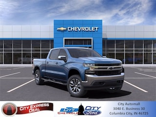 blank 2021 Chevrolet Silverado 1500 LT Truck in Columbia City, IN