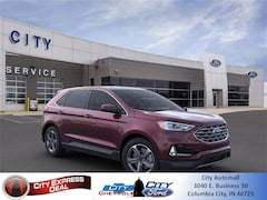 New 2021 Ford Edge SEL SUV for sale in Columbia City, IN