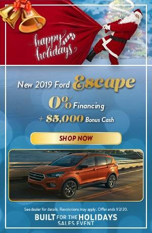 2019 Ford Escape - December Offer