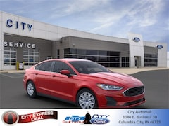 New 2020 Ford Fusion S Sedan for sale in Columbia City, IN