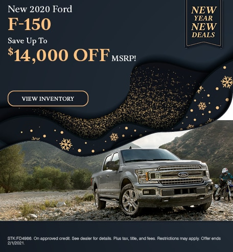 2020 Ford F-150 - January Offer