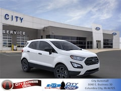 New 2020 Ford EcoSport S SUV for sale in Columbia City, IN